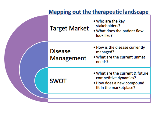 Mapping out the therapeutic landscape